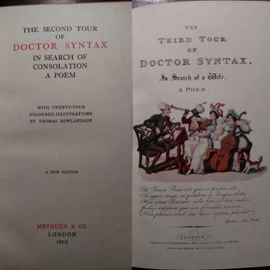 Second & Third Tours of Dr Syntax