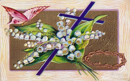 Eastertide Joys Postcard
