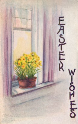 Easter Wishes Postcard