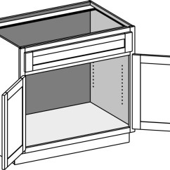 Kitchen Sink Base Cabinet Sizes Chair Pads Cabinets Joint