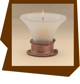 Anne at Home  Mai Oui Candle Votive