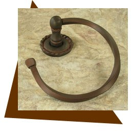 Anne at Home  Roguery Towel Ring 6.5""""