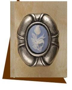 Anne Home Cabinet Hardware Charlotte Insert Cabinet Knob-Large