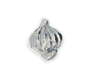 Michael Aram Vegtable Series Nickel Garlic Cabinet Knob