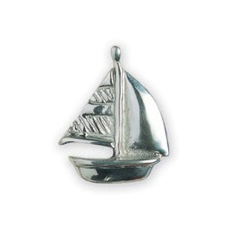 Michael Aram Transportation Series Polished Sailboat Cabinet Knob
