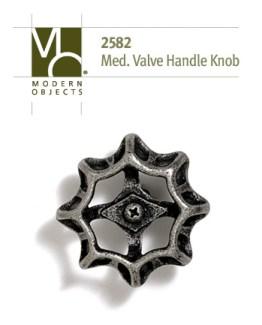Modern ObjectsDesigner Hardware Medium Industrial Valve Handle Cabinet Knob