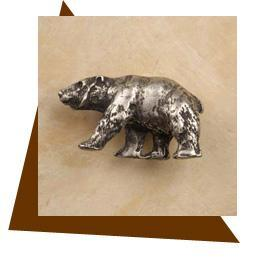 Anne At Home Bear Cabinet Knob - Left