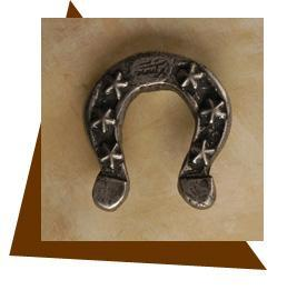 Anne At Home Horseshoe Cabinet Knob