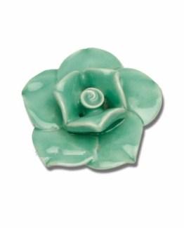 Atlas Homewares Une Collection Le Fleur Rose Knob - Large