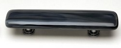 Sietto Glass Cabinet  Pull Cirrus Charcoal Grey