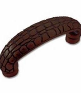 """Big Sky Hardware-Crocodile Cabinet Pull Oil Rubbed Bronze 3"""" C.C."""