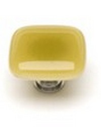 Sietto Glass Cabinet Knobs Intrinsic  Light Amber