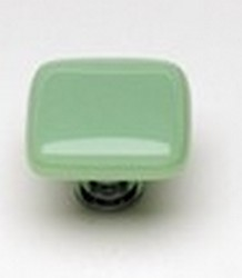 Sietto Glass Cabinet Knobs Intrinsic  Mint Green
