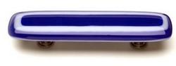 Sietto Glass Cabinet Pulls Luster Cobalt