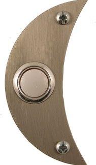 Waterwood Hardware Stainless Steel Moon Shape Doorbell