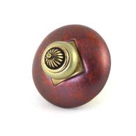 Susan Goldstick Mini 11 Dark Copper 2 inch Cabinet Knob