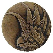Notting Hill Cabinet Knob Cockatoo Antique Brass