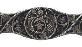 Notting Hill Pull Hardware Grapevines Antique Pewter