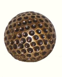 Buck Snort Lodge Decorative Hardware Small Golf Ball Cabinet Knob