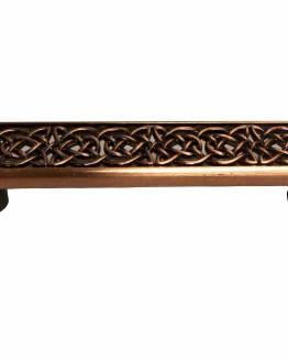 Buck Snort Lodge Decorative Hardware Celtic Style Cabinet Pull #1