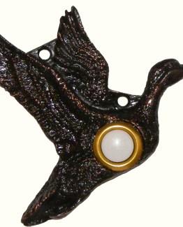 Buck Snort Lodge Decorative Hardware Mallard Door Bell