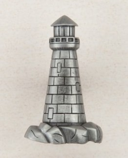 Acorn Manufacturing Lighthouse Cabinet Knob Antique Pewter