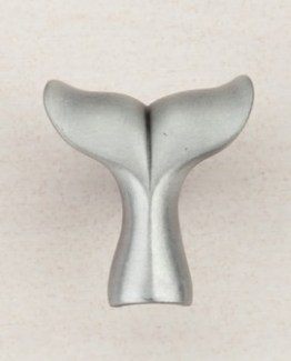 Acorn Manufacturing Whale Tail Cabinet Knob Antique Pewter