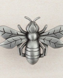 Acorn Manufacturing Bee Cabinet Knob Antique Pewter