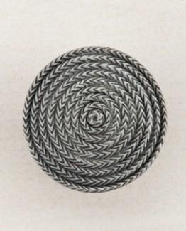 Acorn Manufacturing Rope Circle Cabinet Knob Antique Pewter