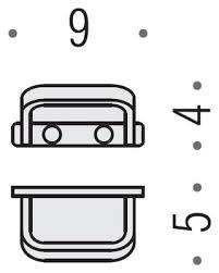 Colombo DesignTimeCollection Single Robe / Towel Hook