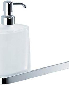 Colombo Design Time Collection Soap Dispenser/Towel Holder -Chrome-Bidet