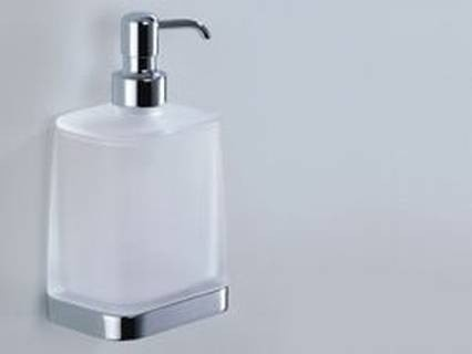 Colombo Design Time Collection Wall Mounted Soap Dispenser - Chrome