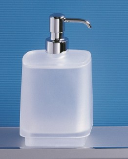 Colombo Design Time Collection Glass Soap Dispenser