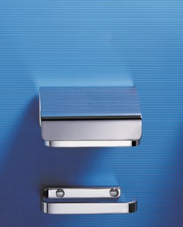 Colombo Design Time Collection Toilet Paper Holder with Cover