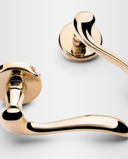 Colombo Design Door Lever Heidi Handle-ID31NA-Privacy