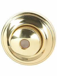 Von Morris Door Hardware Traditional DoorBell-LARGE