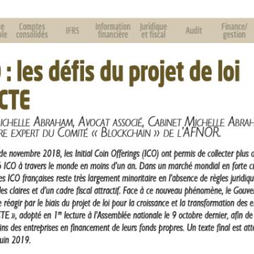 ICO : les défis du projet de loi PACTE