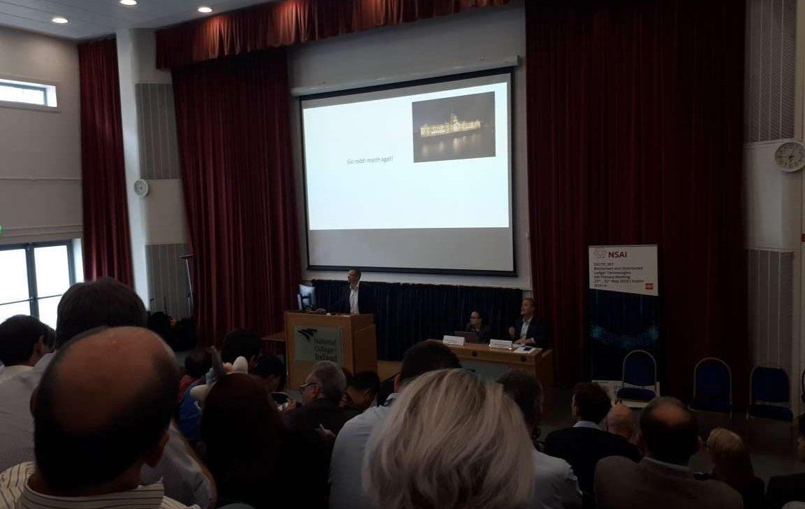 ISO meeting in Dublin