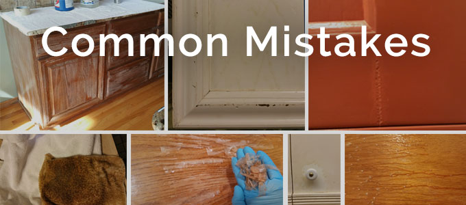 Common Mistakes  Cabinet Refinishing Center