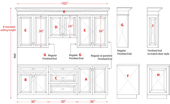 kitchen cabinet cost pictures of designs how much do custom cabinets example costs for cabinetry pictured above