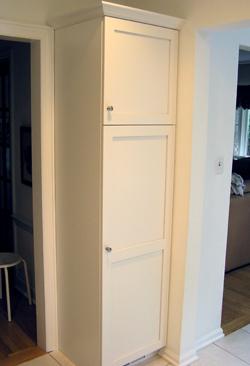 air vent for kitchen sink wall lights white frameless shaker style