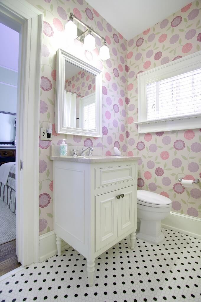 Little Girls Bathroom Vanity Furniture Grade White Custom Wooden Cabinets And Furniture