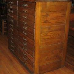 Corner Hutch Kitchen For Antique Oak Flat File Chest 24 Drawers Architect Artist ...
