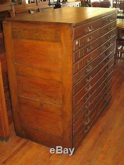 Map Storage Cabinet