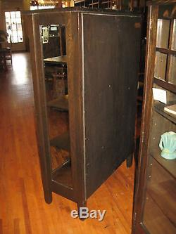 corner kitchen curio cabinet how much does a sink cost stickley brothers mission oak 2 door china #968 ...
