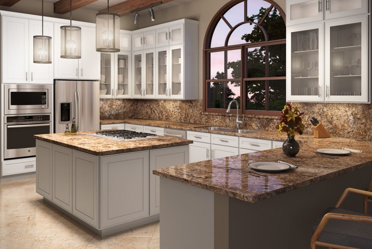 Bedford Maple Kitchen Cabinets Detroit