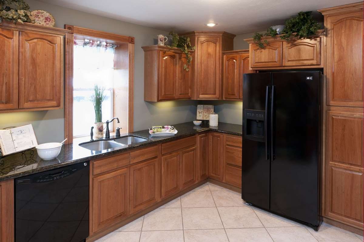 Hickory Cathedral Kitchen Cabinets Detroit  MI Cabinets