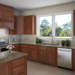 Slab Kitchen Cabinets Best Tile For Salerno Birch Detroit Mi