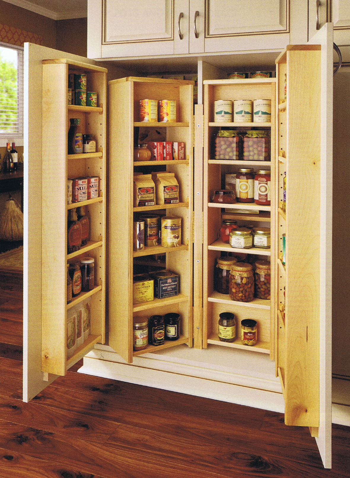 furniture kitchen pantry country dining tables design craft cabinetry organization cabinetsextraordinaire