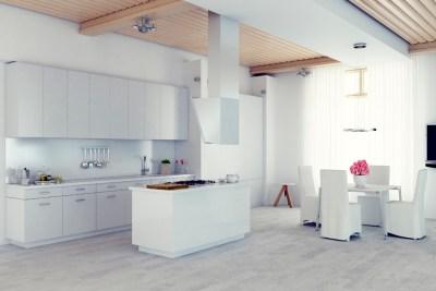 Select Metro Smooth White Kitchen